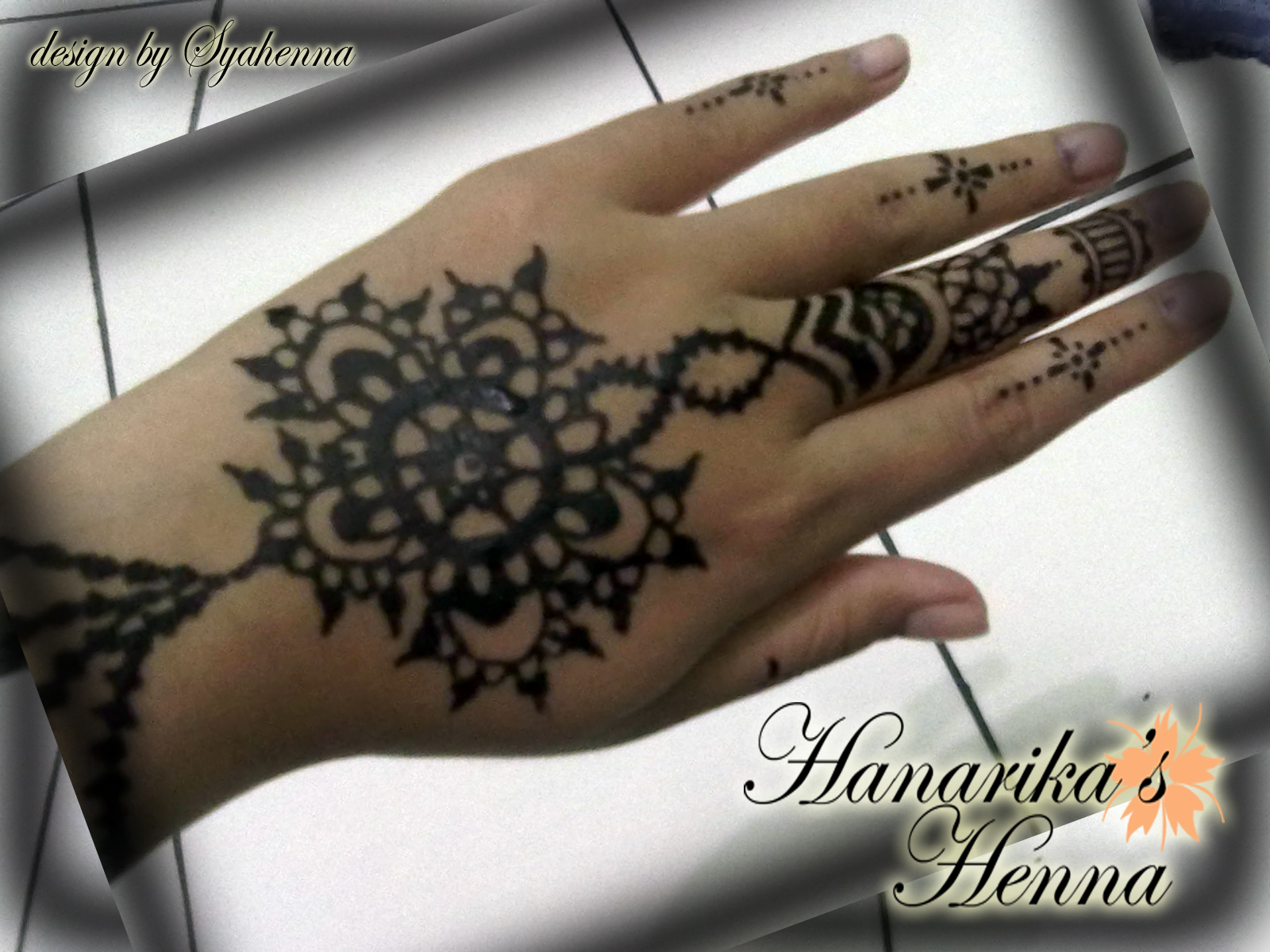 Henna 1 Hanarika Hanarika S Blog